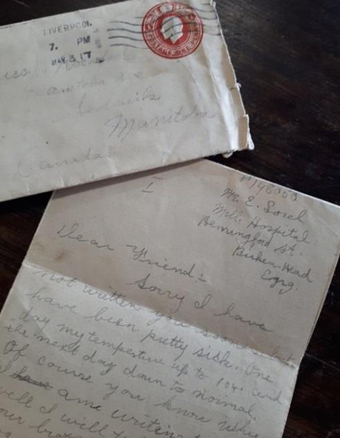 1달러짜리 종이뭉치서 102년 전 1차대전 병사 편지 발견