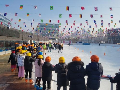 세종시청 광장 야외스케이트장 4만2천명 방문…상권 활성화 기여