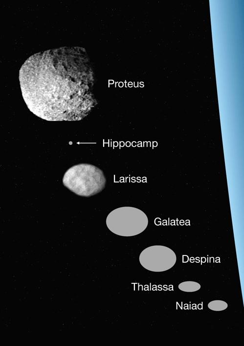 해왕성의 14번째 새 위성 '히포캠프' 발견