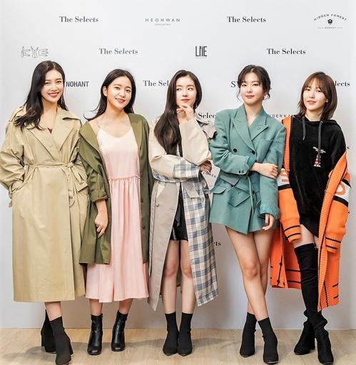 美투어 레드벨벳, 뉴욕서 '코리언 패션 아이콘' 변신