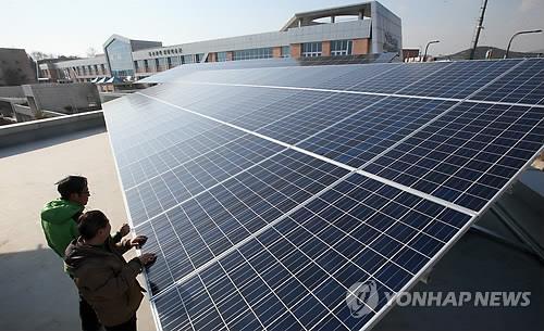 시민이 출자한 '제1호 전주시민 햇빛발전소' 가동