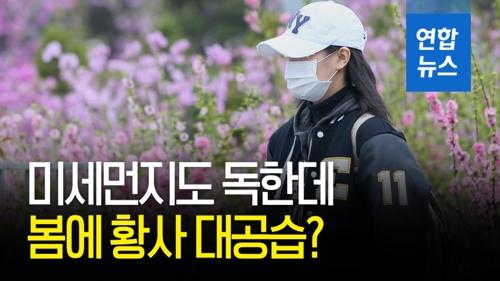 [영상] 미세먼지도 독한데…봄에 황사 대공습?