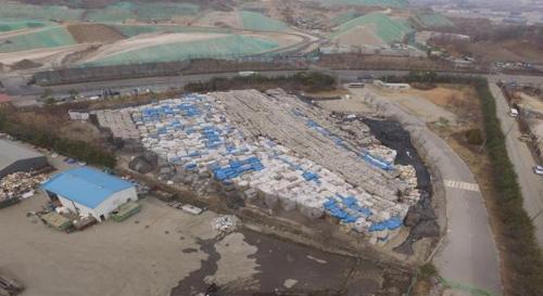 인천 국유지에 무단 적치된 폐기물 수천t…지자체, 수사 의뢰