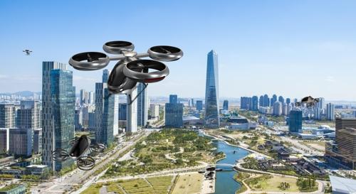 인천시, 빌딩숲 누비는 자율항공기 제작 착수…디자인 공개