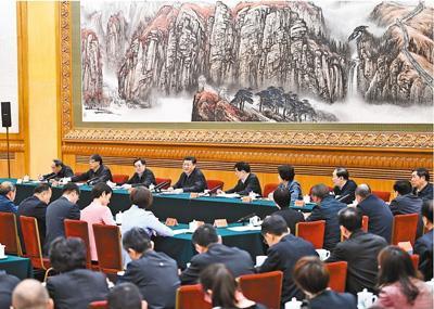 시진핑, 양회 후 첫 행보로 '사회주의 사상 교육' 강조