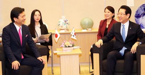 전남 우호도시인 일본 사가현 나주 국제농업박람회 참가