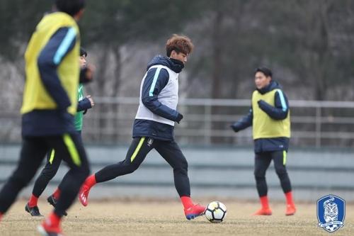 U-20축구대표, 스페인 전지훈련서 우크라이나에 0-1 패배