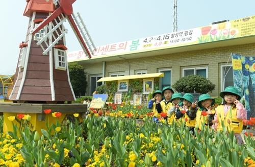 봄꽃 정원 축제…장성 '빈센트의 봄' 내달 13∼14일 개막
