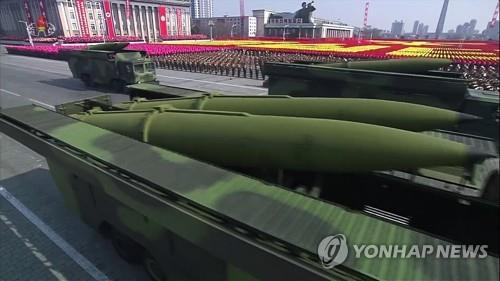 """北, 신형 지대지유도무기 개발한 듯…軍 """"北전술무기 분석중"""""""