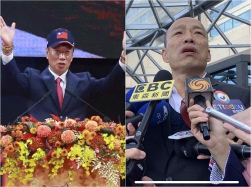"""궈타이밍 출마선언에 한궈위 """"대선출마 고려하고 있지 않다"""""""