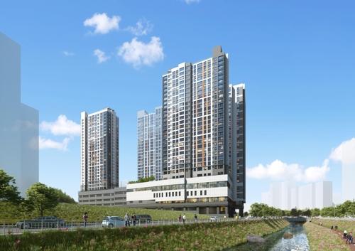 한화건설, '수지 동천 꿈에그린' 아파트 293가구 분양