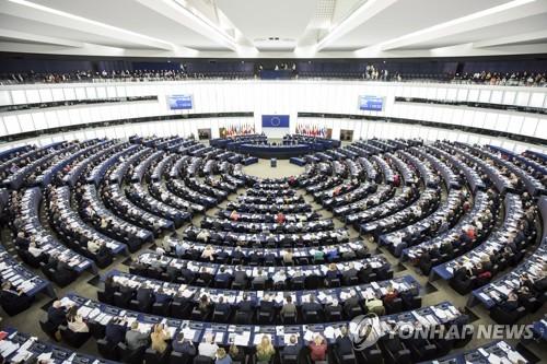 """유럽의회 """"선거에서 반이민·포퓰리스트·극우 정당 약진 예상"""""""