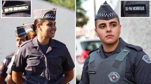 브라질 상파울루서 첫 성전환 경찰…女경찰관으로 복무하다 수술