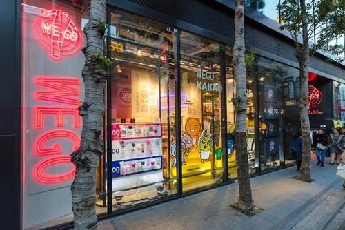 카카오프렌즈, 日 패션 브랜드 '위고' 매장 8곳 입점