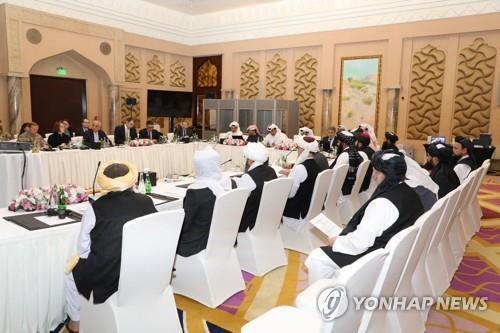 """아프간 정부-탈레반 회담, 개최 직전 무산…""""무기한 연기"""""""