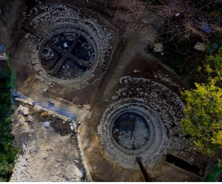 부산 배산성 집수지 출토 유물은 대나무 발·군막 기둥