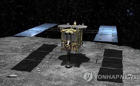 日탐사선, 소행성에 인공웅덩이 만들었다