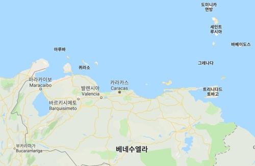 """35명 탄 베네수 선박 카리브해서 침몰…""""2명 구조·대부분 실종"""""""