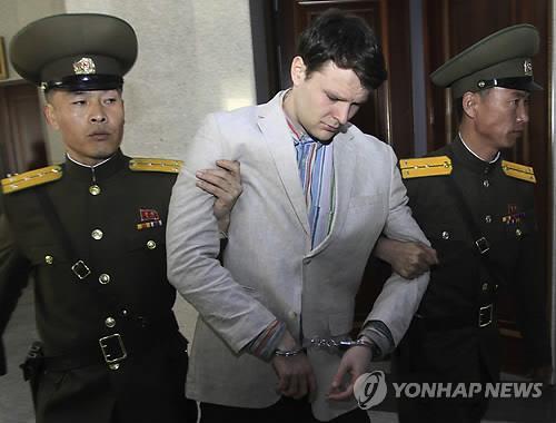 """트럼프 """"웜비어 위해 북한에 돈 지불하지 않았다""""(2보)"""