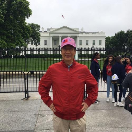 '대만판 트럼프' 꿈꾸는 궈타이밍, 백악관 방문…슬로건도 모방