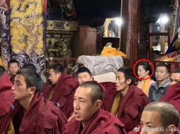 판빙빙, 연예계 복귀 저울질?…이번엔 티베트 사원 방문