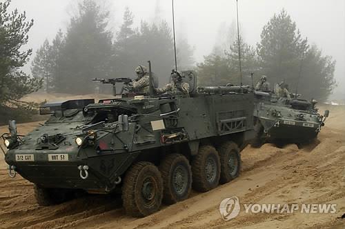 태국, 美 스트라이커 장갑차 37대 구매…中 무기구매 기류 변화?