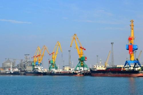 우즈베크, 카자흐스탄 항구 통한 최초의 물류 운송 시작