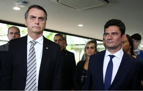 """브라질 보우소나루 """"모루 법무장관에게 대법관 임명 약속 안해"""""""