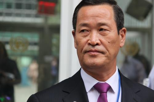 김성 유엔 北대사, 오늘밤 '화물선 압류' 관련 기자회견