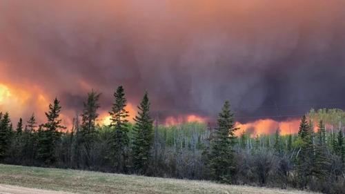캐나다 앨버타주서 올해 첫 대형 산불…4천명 대피령