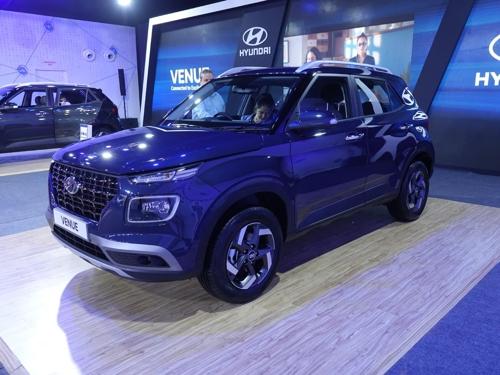 현대차 소형 SUV 베뉴, 인도서 글로벌시장 첫 출시