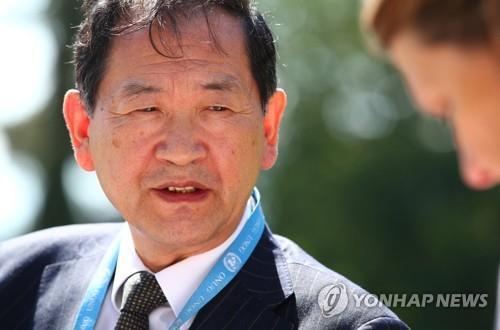 """주제네바 北대사 """"화물선 압류, 북미 관계 최대 걸림돌"""""""