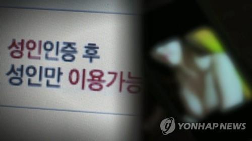 음란물 8천400개 올린 50대 항소심도 징역 1년