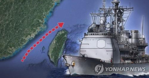 미 군함 2척, 또 대만해협 통과…中영유권 주장 견제