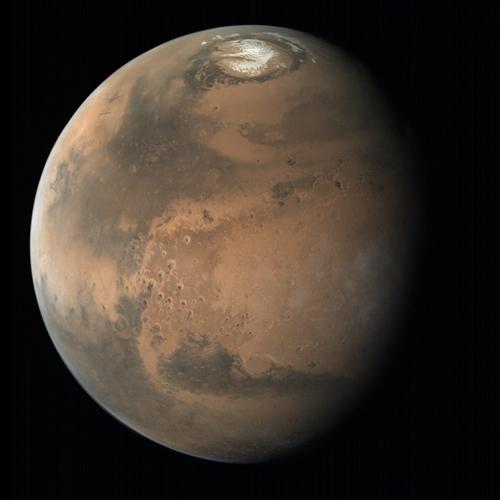 화성 북극 빙관 아래 나이테처럼 겹겹이 쌓인 얼음층 존재