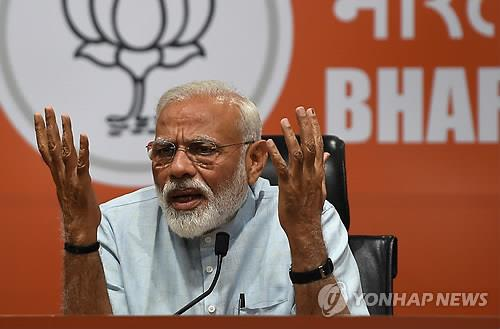 모디냐 반(反)모디냐…인도, 총선 거치며 분열·반목 심화
