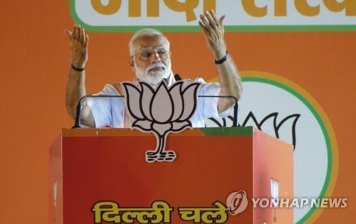 인도 모디, 안보 앞세워 총선 이겼지만…앞길엔 민생현안 가득