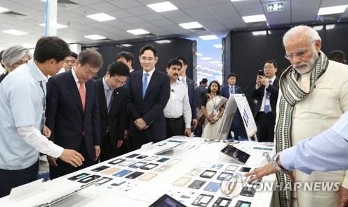 모디 재집권, 한국 투자·교역엔 '청신호'