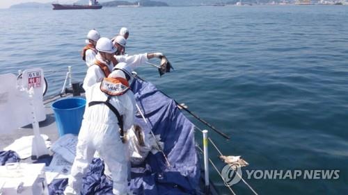 대구시 금호강서 수질오염사고 대비 훈련 실시