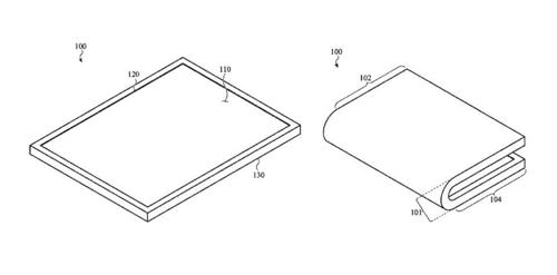 애플의 추격…폴더블 디스플레이 특허 획득