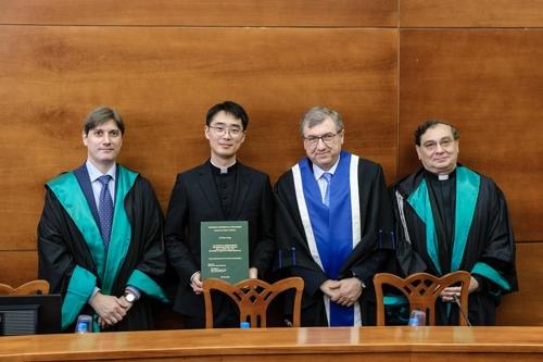 교황청 3번째 韓외교관 탄생 임박…정다운 신부, 외교관학교졸업