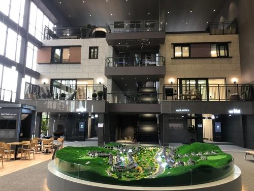 들썩이는 삼송에 선보이는 블록형 단독주택 '자이더빌리지'