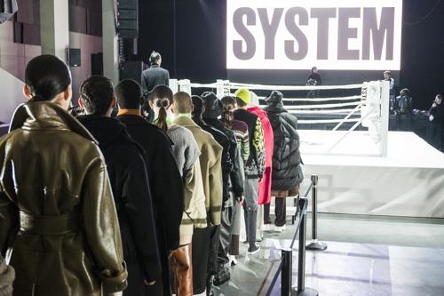 한섬 시스템·시스템옴므, 파리 패션위크 2회 연속 참가