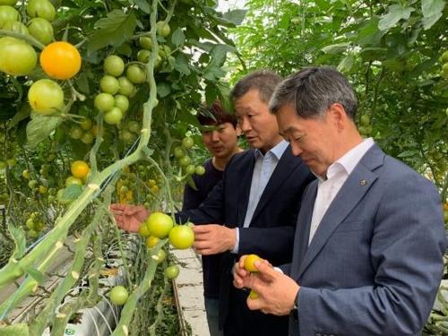 [게시판] NH농협은행, '스마트팜' 찾아 농업금융 상담