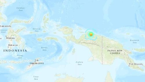 인도네시아 웨스트 파푸아서 규모 6.3 강진