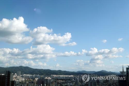 대전·세종·충남 구름 많아…낮 최고 29도