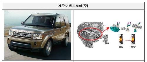 디스커버리4·레인지로버 등 1만9천대 '디젤엔진 문제' 재리콜
