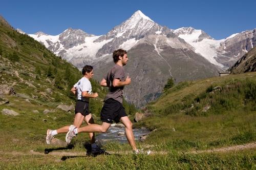 알프스 산악 달리고 스위스 음식 즐긴..