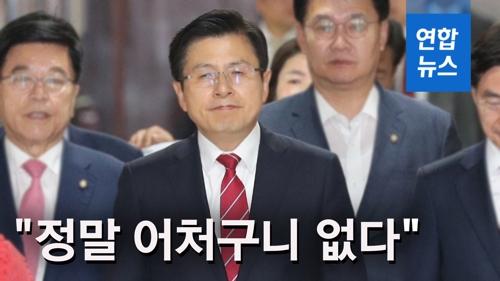 """[영상] 황교안 '외국인 임금차별' 논란…""""문제 풀겠다는데…"""""""