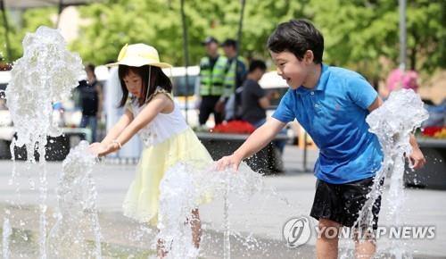 동두천 소요산 어린이공원에 물놀이장…25일 개장